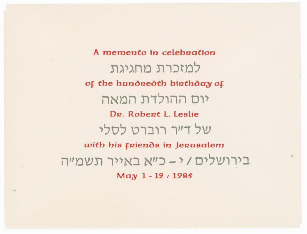 About Bob Leslie Index Of Names Places